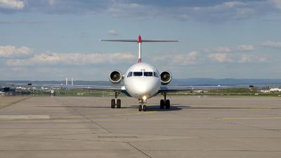 OE-LVC - Fokker 100 - Austrian Airlines