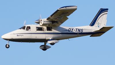 OY-TNS - Vulcanair P.68C - Bio flight