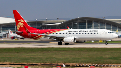 A picture of B1937 - Boeing 73787L - Shenzhen Airlines - © mu2001