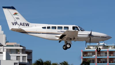VP-AEW - Cessna 402C - Trans Anguilla Airways