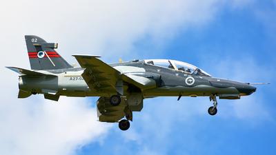 A27-02 - British Aerospace Hawk Mk.127 Lead-In Fighter - Australia - Royal Australian Air Force (RAAF)