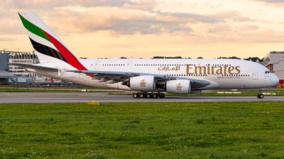 A6-EVQ - Airbus A380-842 - Emirates