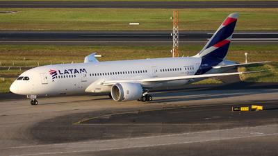 CC-BBG - Boeing 787-8 Dreamliner - LATAM Airlines