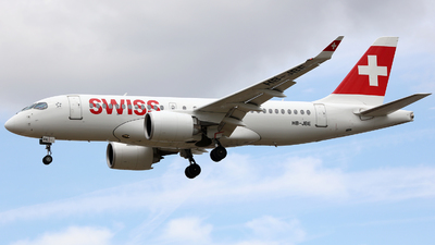 HB-JBE - Bombardier CSeries CS100  - Swiss
