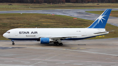 OY-SRG - Boeing 767-219(ER)(BDSF) - Star Air