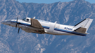 N34AK - Beech B99 Airliner - Ameriflight