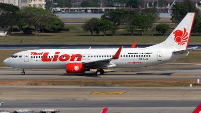 HS-LUQ - Boeing 737-8GP - Thai Lion Air