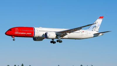 G-CKNZ - Boeing 787-9 Dreamliner - Norwegian