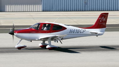 A picture of N418CP - Cirrus SR22 - [3262] - © KEVIN ROWETT