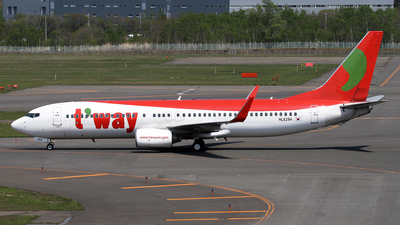 HL8294 - Boeing 737-8Q8 - T'Way Air