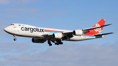 LX-VCE - Boeing 747-8R7F - Cargolux Airlines International