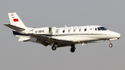 B-3642 - Cessna 560XL Citation XLS - Civil Aviation Administration of China (CAAC)