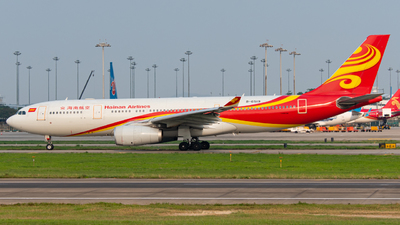 A picture of B6519 - Airbus A330243 - Hainan Airlines - © ArticleYeung