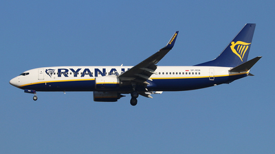 A picture of SPRSN - Boeing 7378AS - Ryanair - © Ferenc Kolos