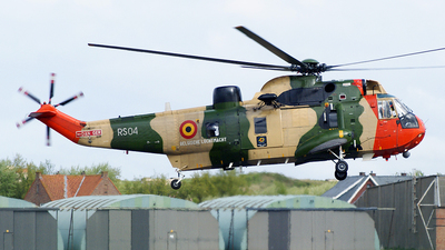 RS-04 - Westland Sea King Mk.48 - Belgium - Air Force
