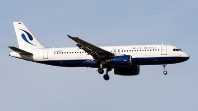 D-ANNG - Airbus A320-232 - Blue Wings