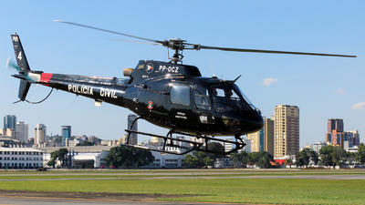 PP-OCZ - Aérospatiale AS 350 Ecureuil - Brazil - Policia Civil