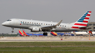 A picture of N268NN - Embraer E175LR - American Airlines - © Saul Hannibal