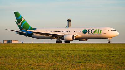 HB-JJF - Boeing 767-316(ER) - ECAir - Equatorial Congo Airlines (PrivatAir)