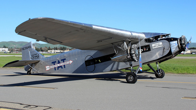 NC9645 - Ford Tri-Motor - Private