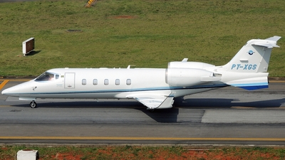 PT-XGS - Bombardier Learjet 60 - Weston Taxi Aéreo