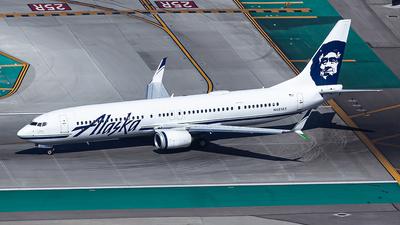 A picture of N481AS - Boeing 737990(ER) - Alaska Airlines - © N.Yuya