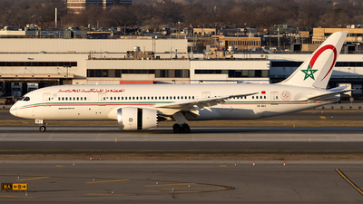 A picture of CNRGS - Boeing 7878 Dreamliner - Royal Air Maroc - © JinZi
