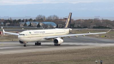 A picture of HZAQI - Airbus A330343 - Saudia - © Alp DAYANIKLIOGLU