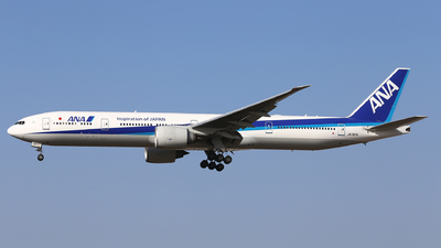 JA787A - Boeing 777-381ER - All Nippon Airways (ANA)