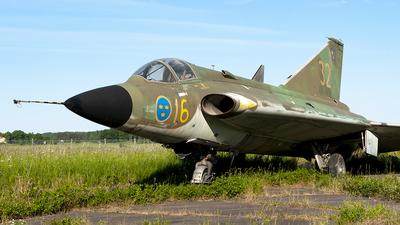 35496 - Saab J-35F Draken - Sweden - Air Force