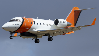 VH-XND - Bombardier CL-600-2B16 Challenger 604 - Australia - Maritime Safety Authority (MSA)
