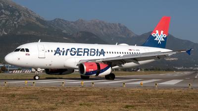 A picture of YUAPB - Airbus A319132 - AirSERBIA - © William Vignes