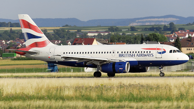 G-EUPV - Airbus A319-131 - British Airways