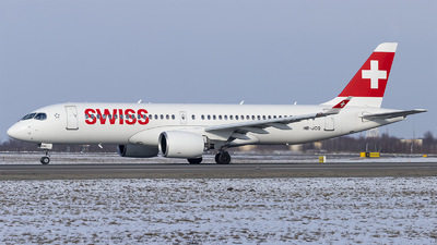HB-JCQ - Airbus A220-371 - Swiss