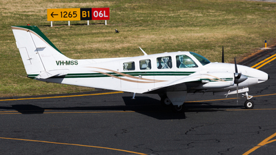 VH-MSS - Beechcraft 58 Baron - Private