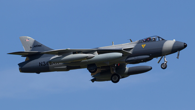 N343AX - Hawker Hunter Mk.58  - Airborne Tactical Advantage Company (ATAC)