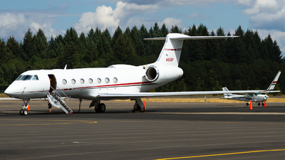 N668P - Gulfstream G550 - Private