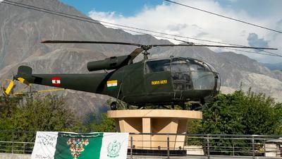 - Aérospatiale SA 316B Alouette III - India - Army