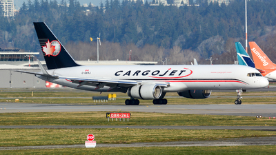 A picture of CGVAJ - Boeing 757223(PCF) - Cargojet Airways - © Chung Kwok