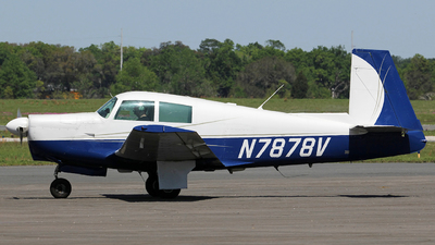 N7878V - Mooney M20C - Private