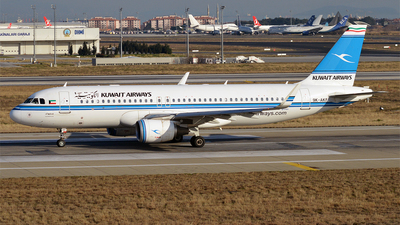 9K-AKF - Airbus A320-214 - Kuwait Airways