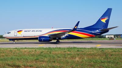 G-NPTB - Boeing 737-83N(SF) - West Atlantic Airlines