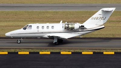 N487CJ - Cessna 525 Citation CJ1 - Private
