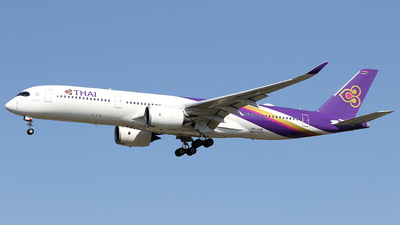 HS-THE - Airbus A350-941 - Thai Airways International