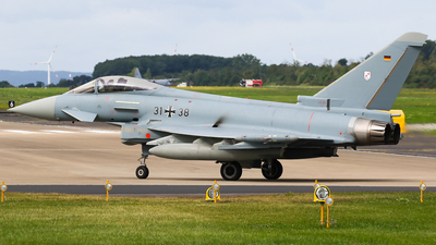 31-38 - Eurofighter Typhoon EF2000 - Germany - Air Force