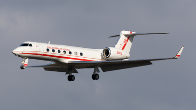 0002 - Gulfstream G550 - Poland - Air Force