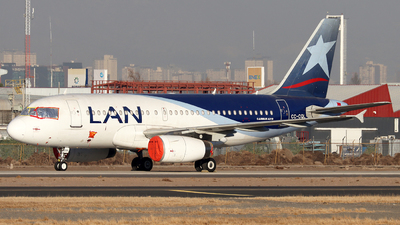 CC-CQL - Airbus A319-132 - LAN Airlines