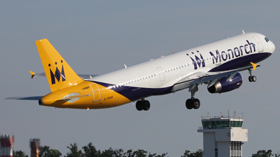 G-ZBAK - Airbus A321-231 - Monarch Airlines