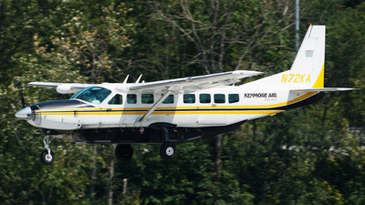 A picture of N72KA - Cessna 208B Grand Caravan - Kenmore Air - © SpotterPowwwiii
