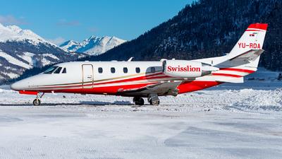 YU-RDA - Cessna 560XL Citation XLS Plus - Air Pink